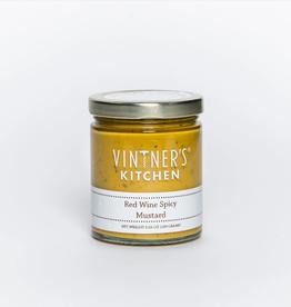 Vintner's Kitchen Red Wine Spicy Mustard