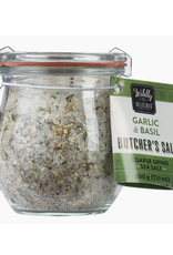 Wildly Delicious Garlic & Basil Spiced Salt for Vegetables and Potato