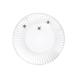 Mary Lake-Thompson Melamine Bee Plates Set of 4