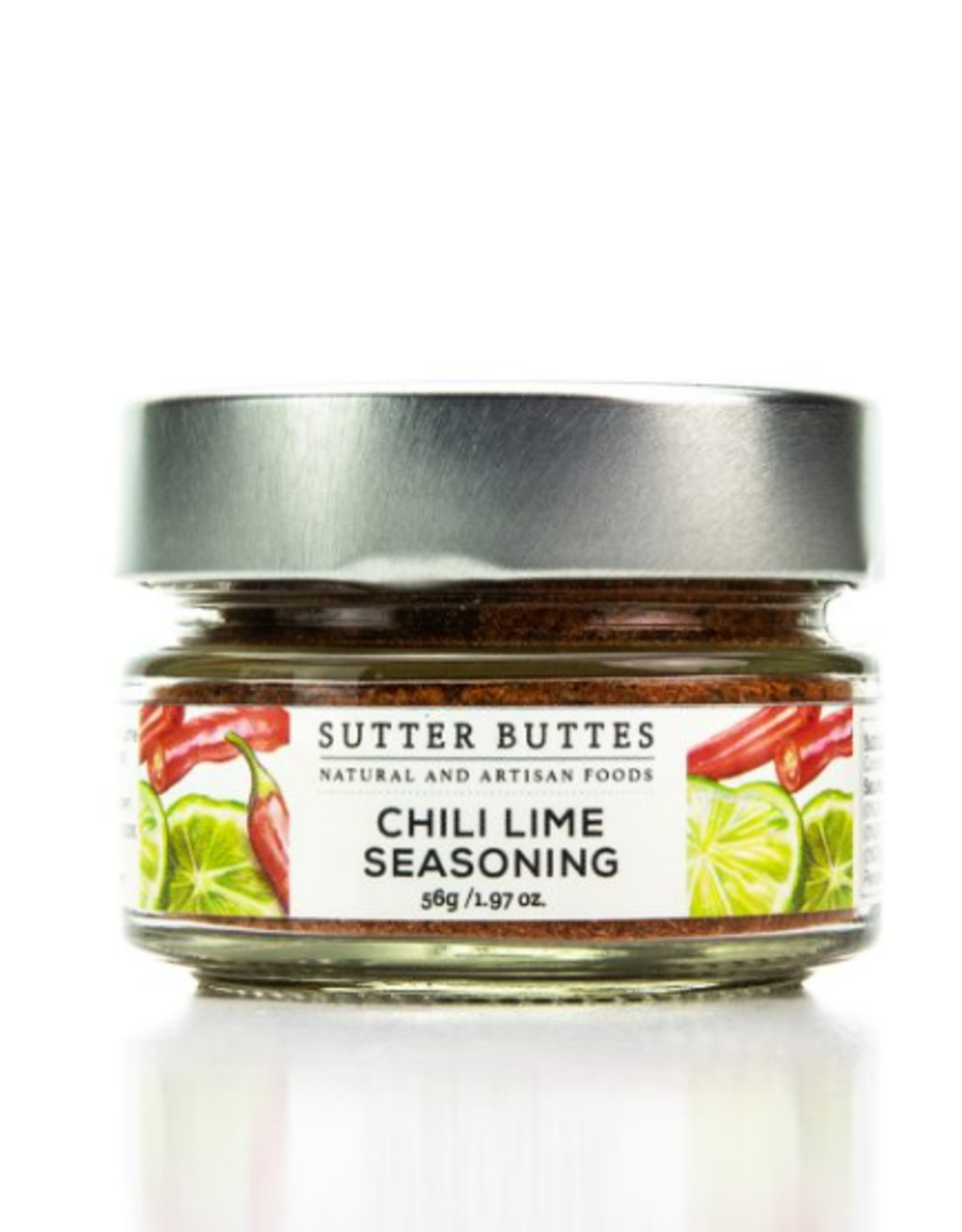 Sutter Buttes Chili Lime Seasoning, 2 oz