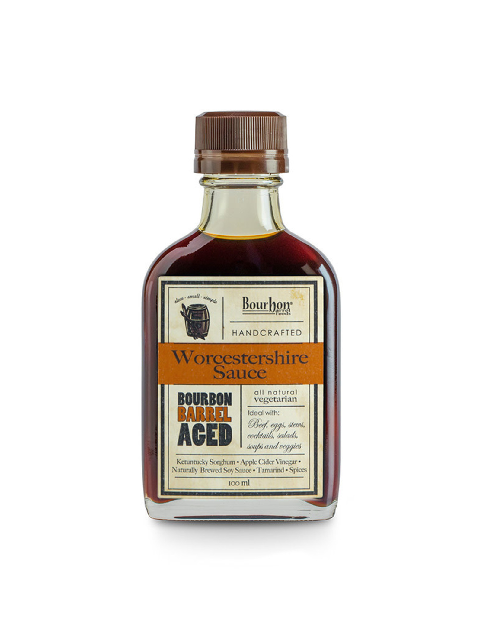 Bourbon Barrel Foods Bourbon Worcestershire Sauce 100 ml