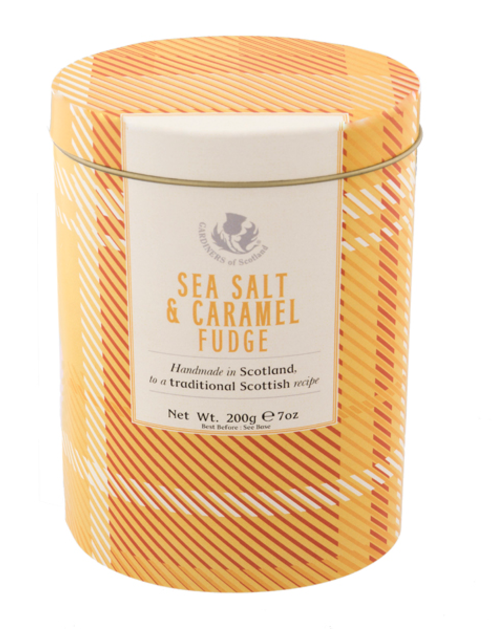 Great Scot International Fudge Tin - Sea Salt & Caramel