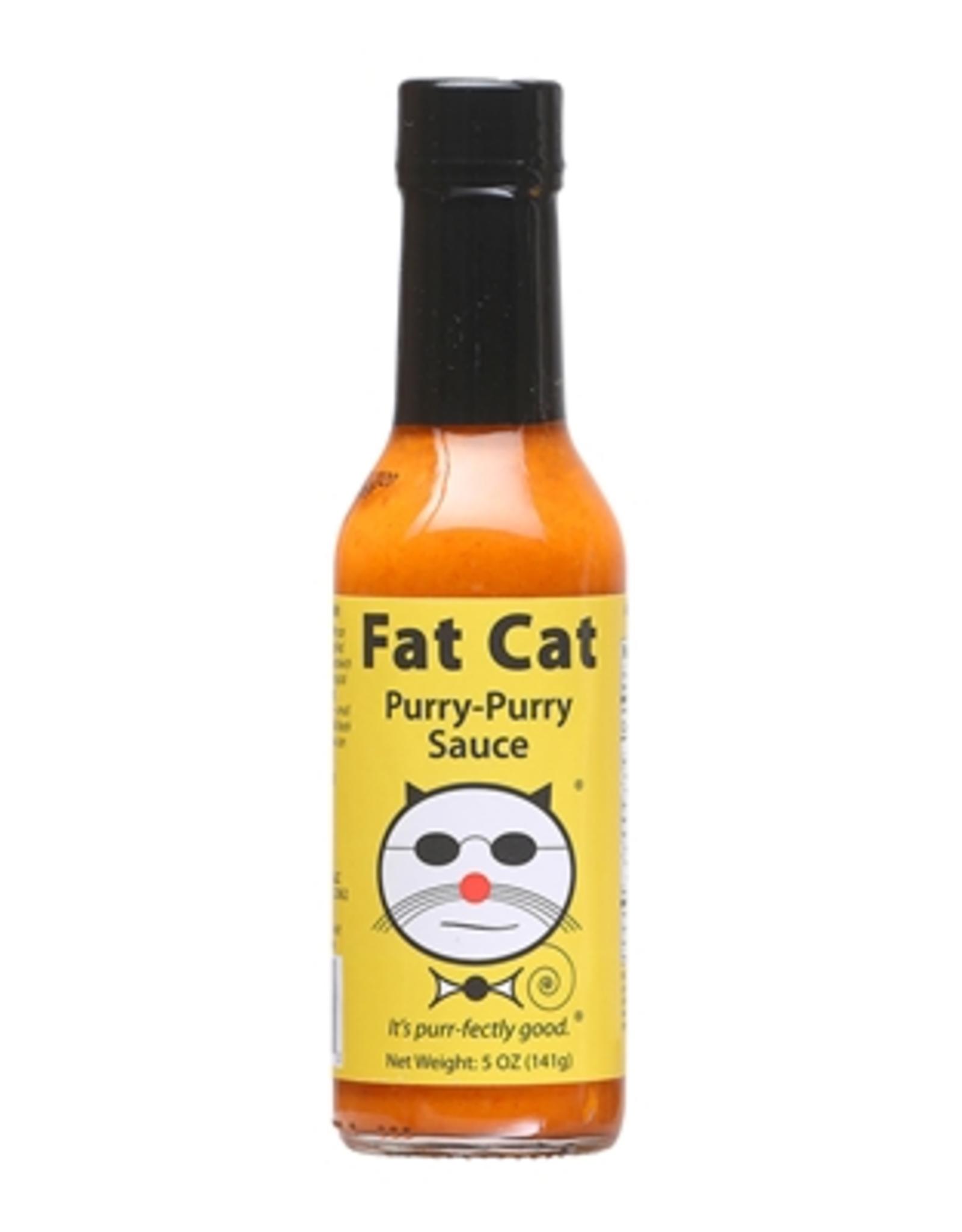 Hot Shots Distributing Fat Cat Purry-Purry Hot Sauce