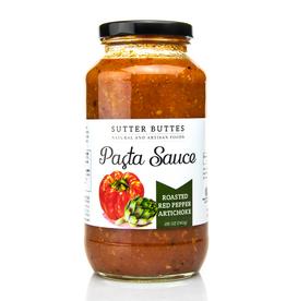 Sutter Buttes Roasted Red Pepper Artichoke Pasta Sauce
