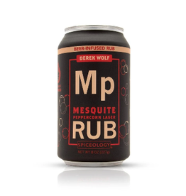 Spiceology Mesquite Peppercorn Lager, Beer Can Rub