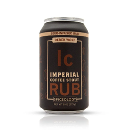 Spiceology Imperial Coffee Stout, Beer Can Rub