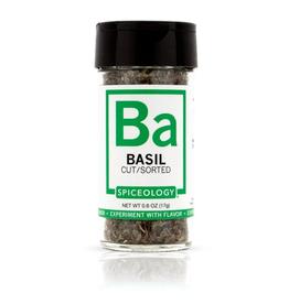 Spiceology Basil, .6oz, Glass Jar