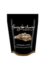 Funky Chunky Cafe Caramel Latte Popcorn, Large Bag