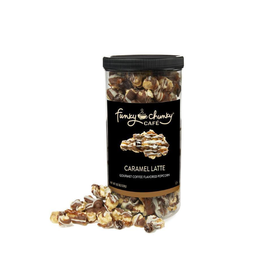 Funky Chunky Cafe Caramel Latte Popcorn, Tall Canister