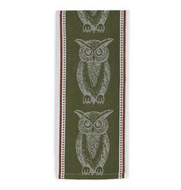 Design Imports Jacq. Dishtowel - Owl