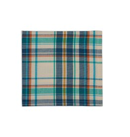 Design Imports Napkin - Happy Camper Plaid Blue