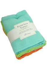 Design Imports Flour Sack Towel Set/4 - Bright