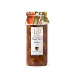 New Canaan Farms 12 Oaks Chunky Peach Jalapeno Salsa