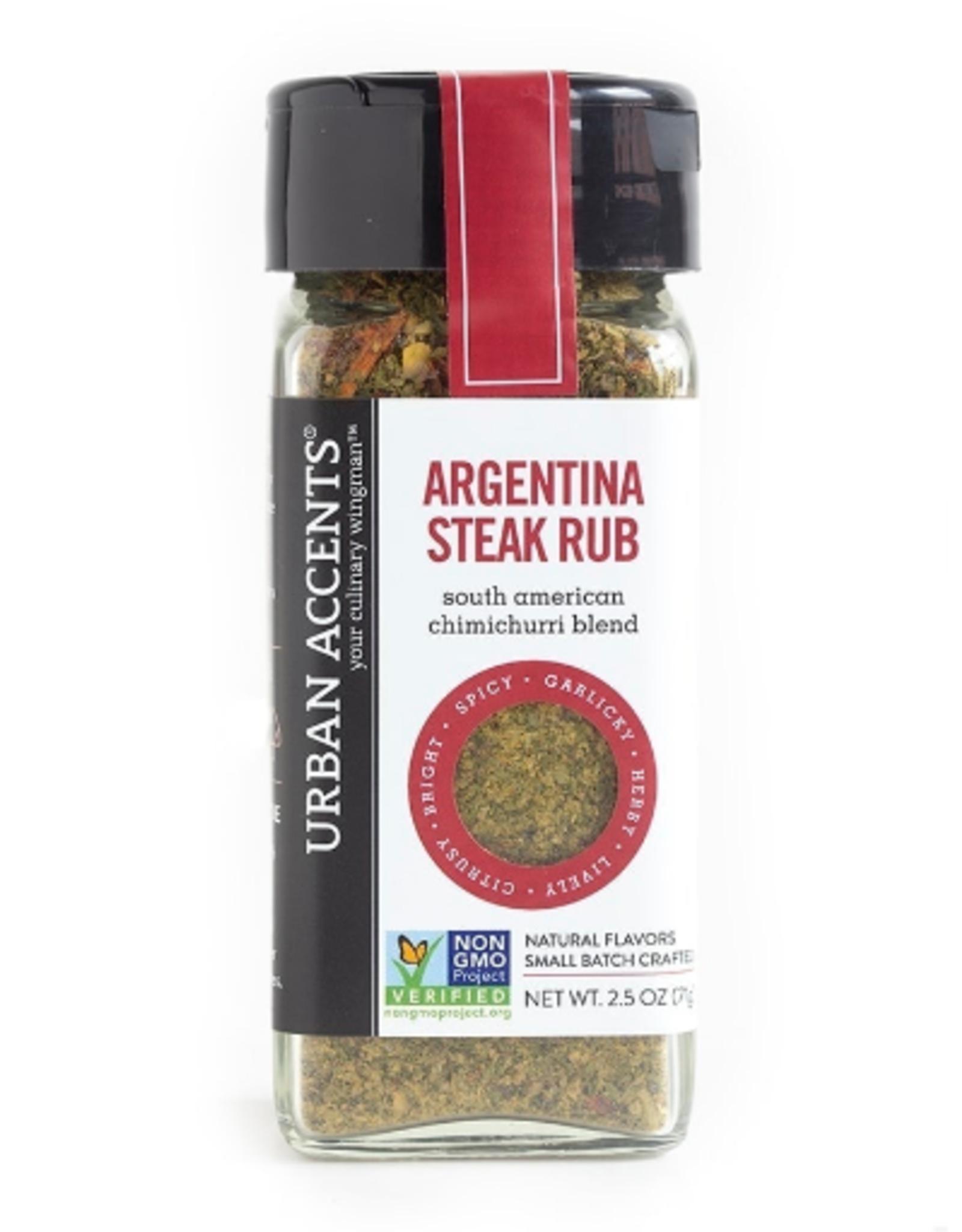 Urban Accents Argentina Steak Rub