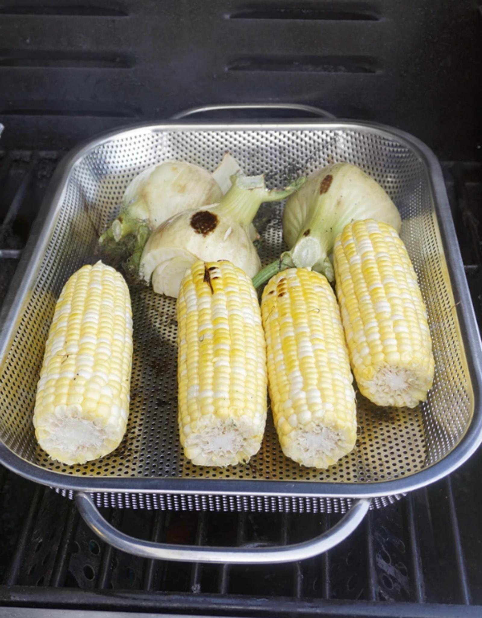 RSVP BBQ Roasting Pan