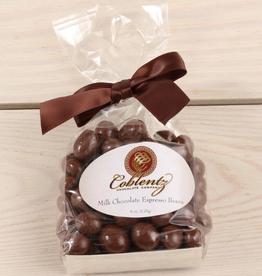 Coblentz Chocolates Milk Espresso Beans, 6oz