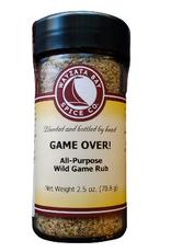 Wayzata Bay Spice Co. Game Over Wild Game Rub