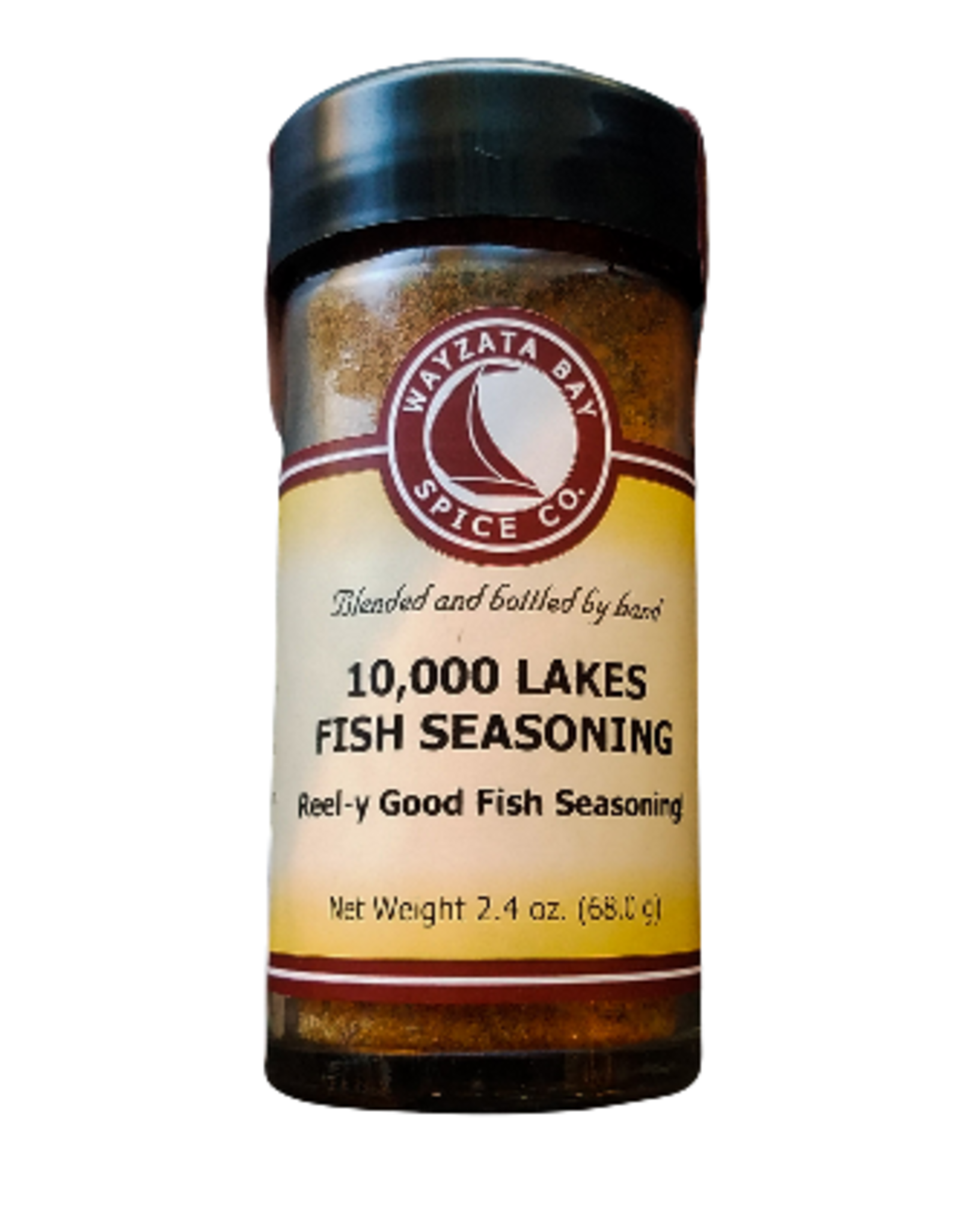Wayzata Bay Spice Co. 10,000 Lakes Fish Seasoning