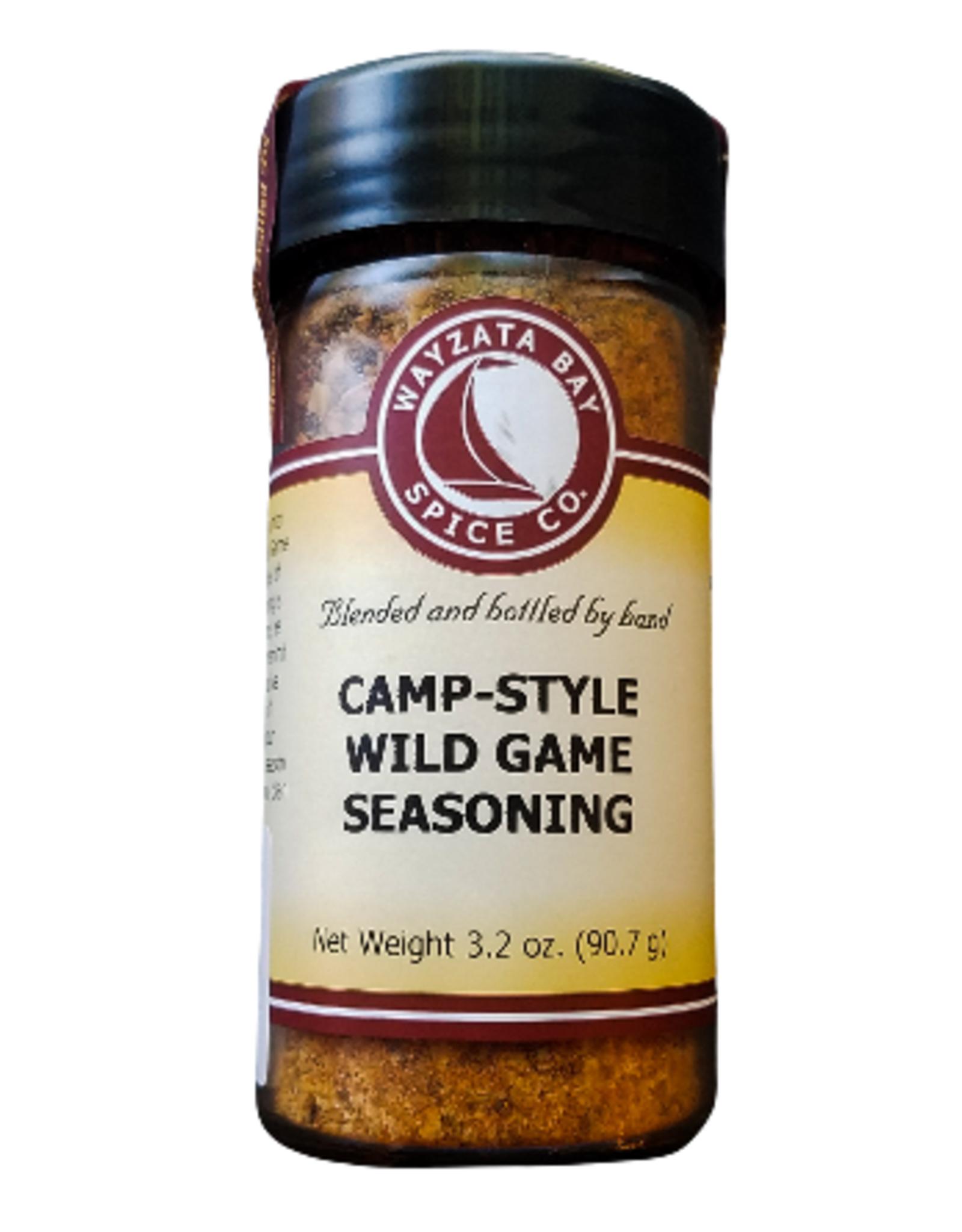 Wayzata Bay Spice Co. Camp Style Wild Game Seasoning