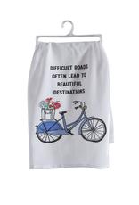 Tag Dishtowel, Beautiful Destination Bike