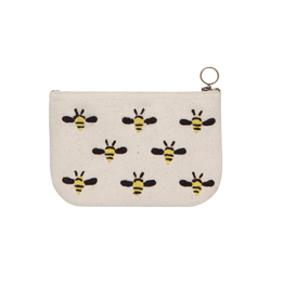 Now Designs Zip Pouch Small - Frida, Bees