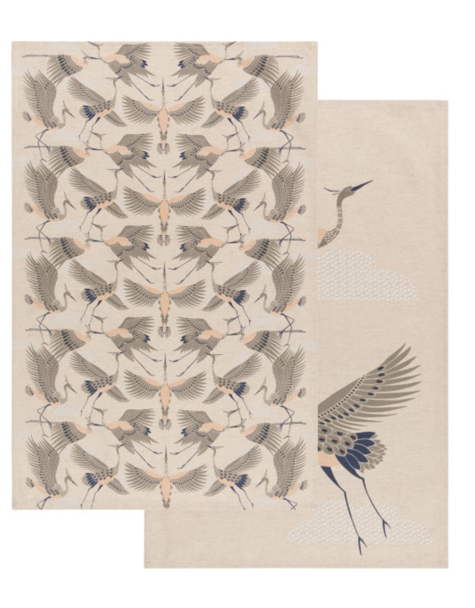 Now Designs Dishtowel S/2, Flight of Fancy