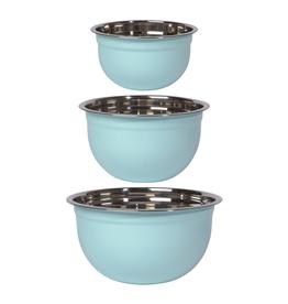 Now Designs Mixing Bowl Set/3 - Robin Egg Blue