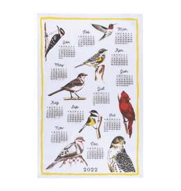 Now Designs Dishtowel, Bird Calendar 2022