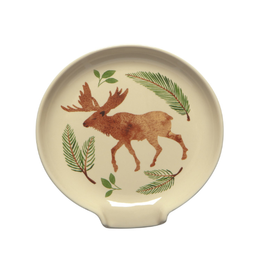 Now Designs Spoon Rest, Winter Moose