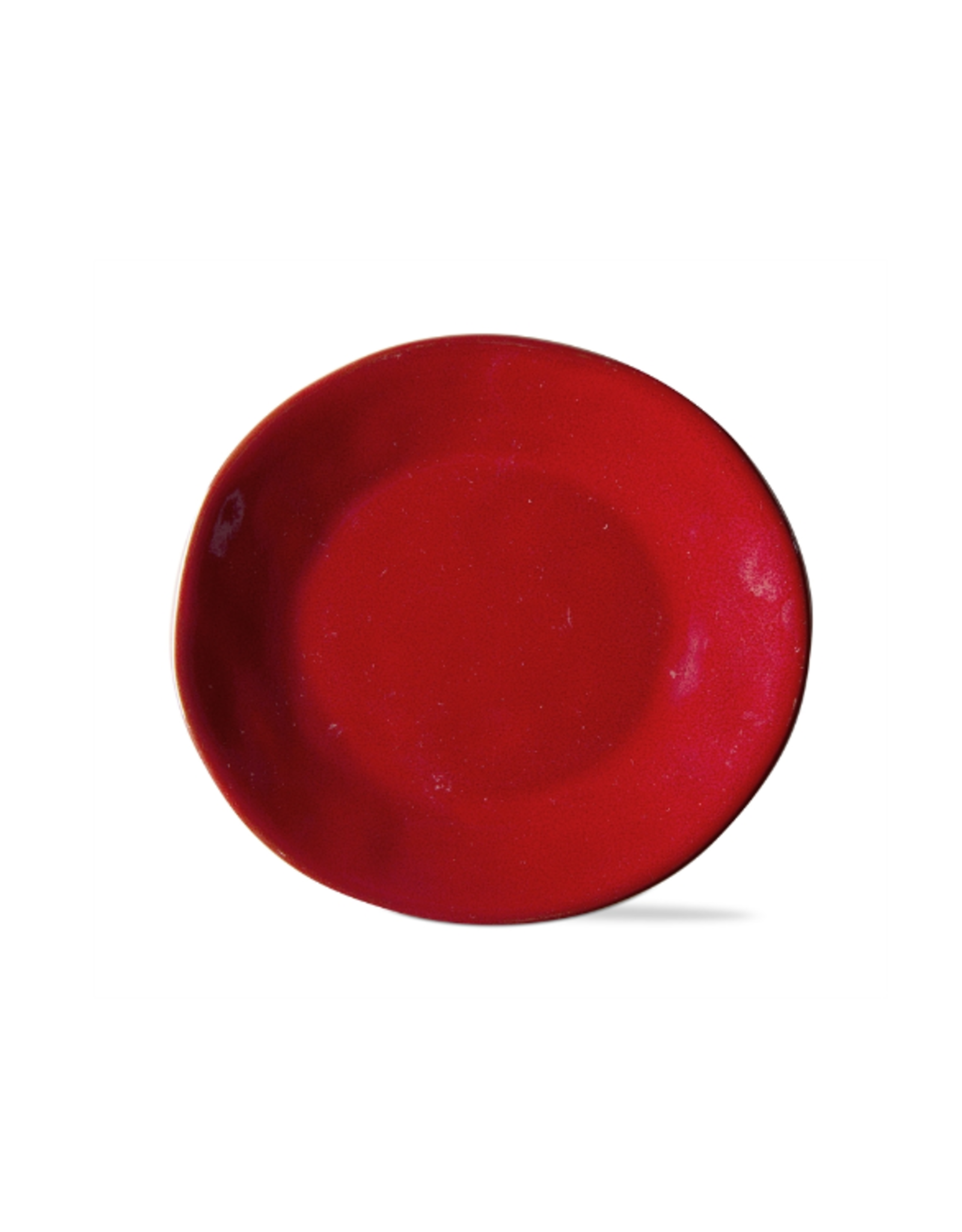 Tag Appetizer Plate, Soho Glaze Red