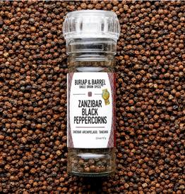 Burlap & Barrel Zanzibar Black Peppercorns Grinder
