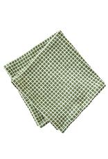 Tag Dishtowel S/2, Green Check