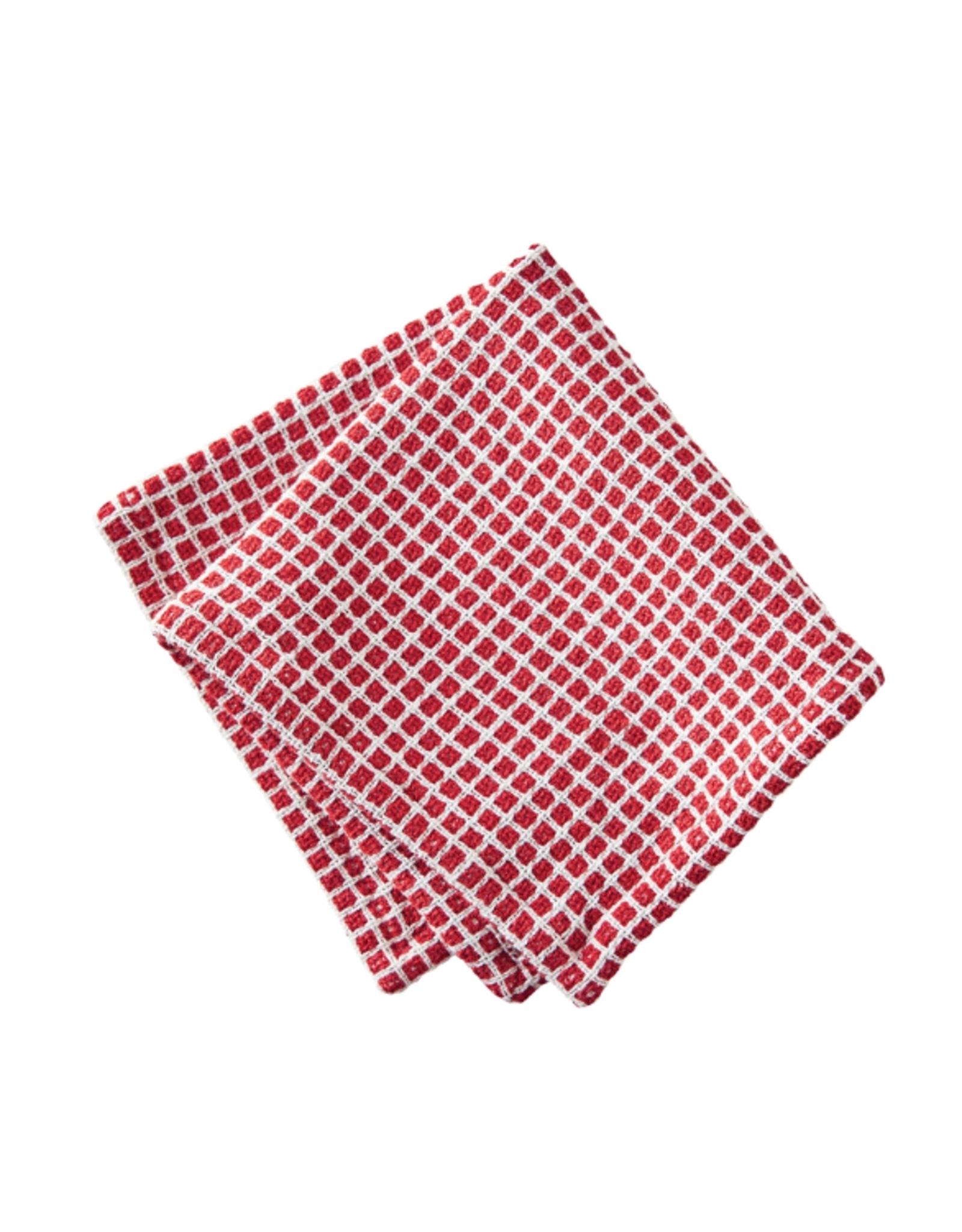 Tag Dishtowel S/2, Red Check