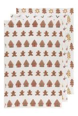 Now Designs Dishtowel S/3, Xmas Cookies