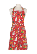 Now Designs Apron, Yule Dogs
