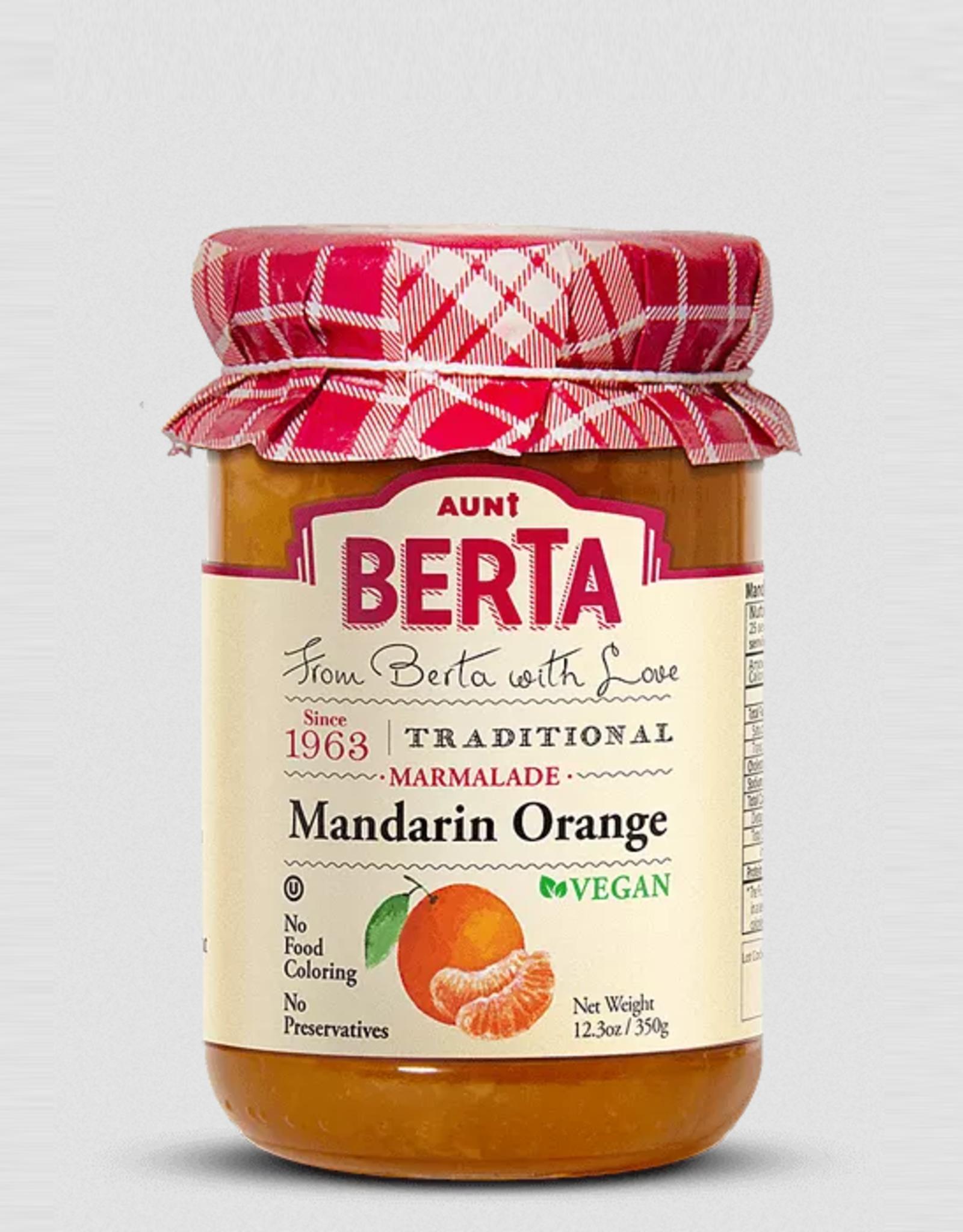 Nassau Candy Aunt Berta Jam, Mandarin Orange