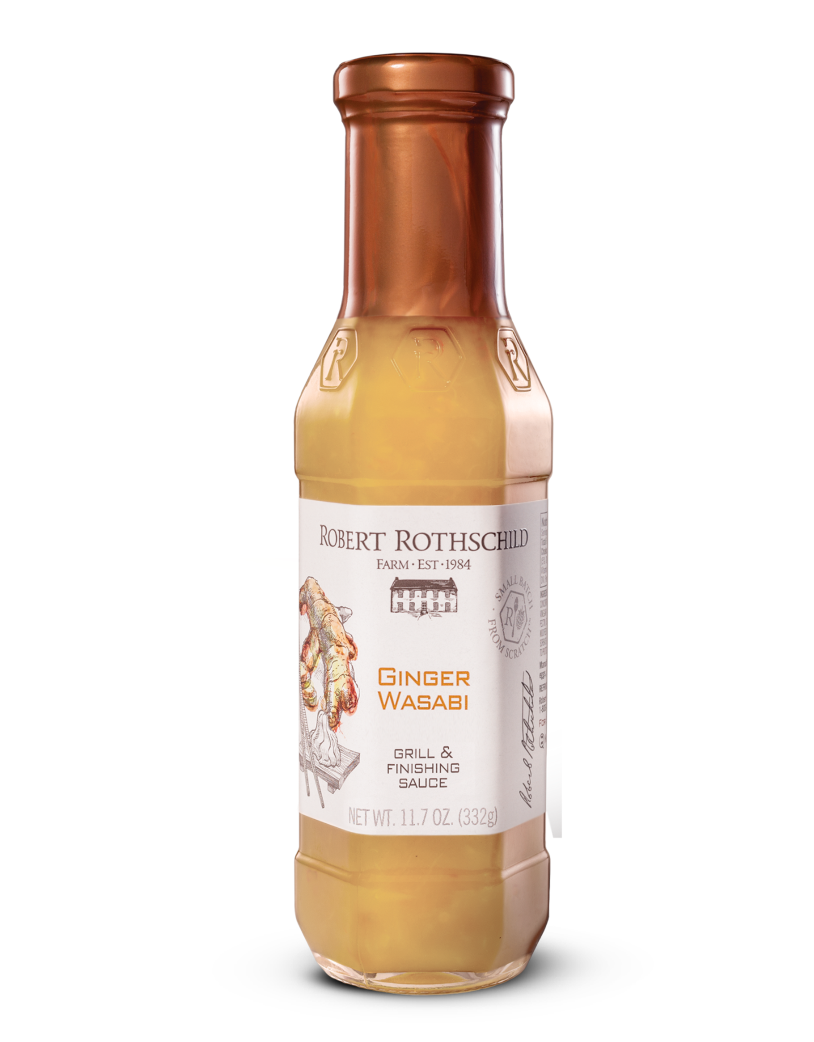 Robert Rothschild Ginger Wasabi Sauce, 11.7 oz