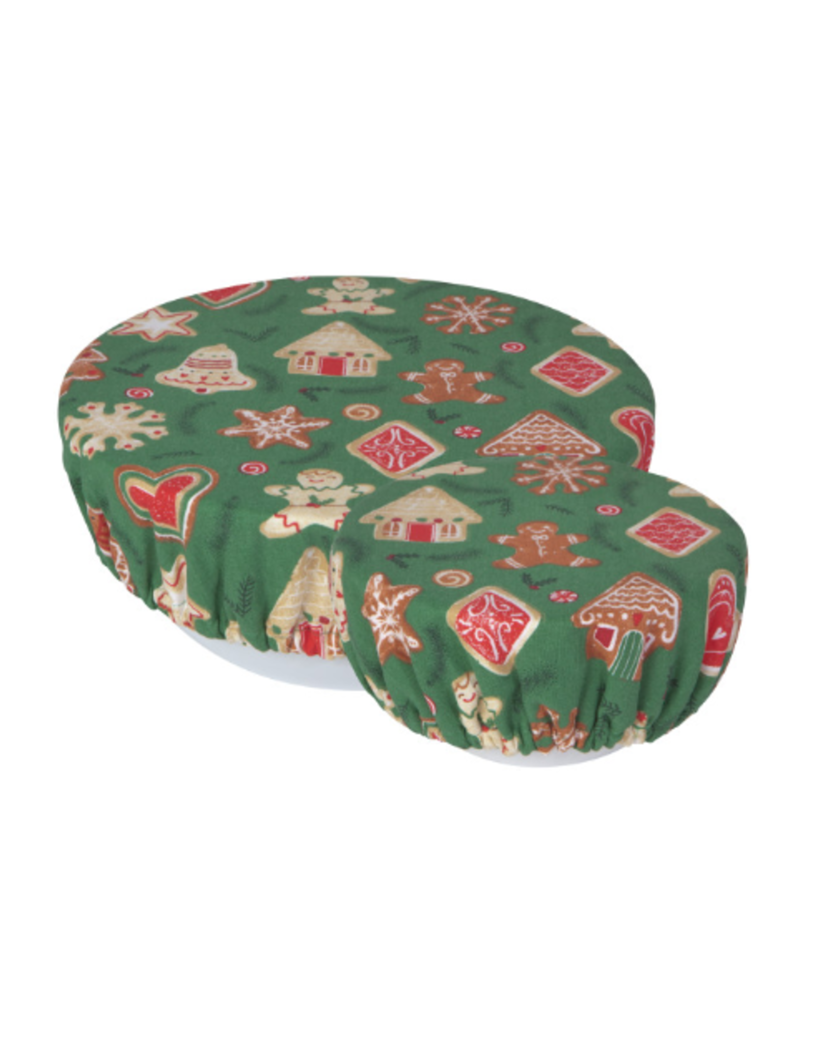 Now Designs Bowl Cover S/2 - Xmas Cookies