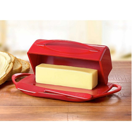 Kitchen Concepts Unlimited Butterie Butter Dish - Red