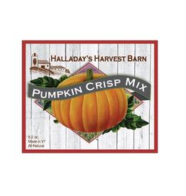 Halladay's Harvest Barn Pumpkin Crisp Mix