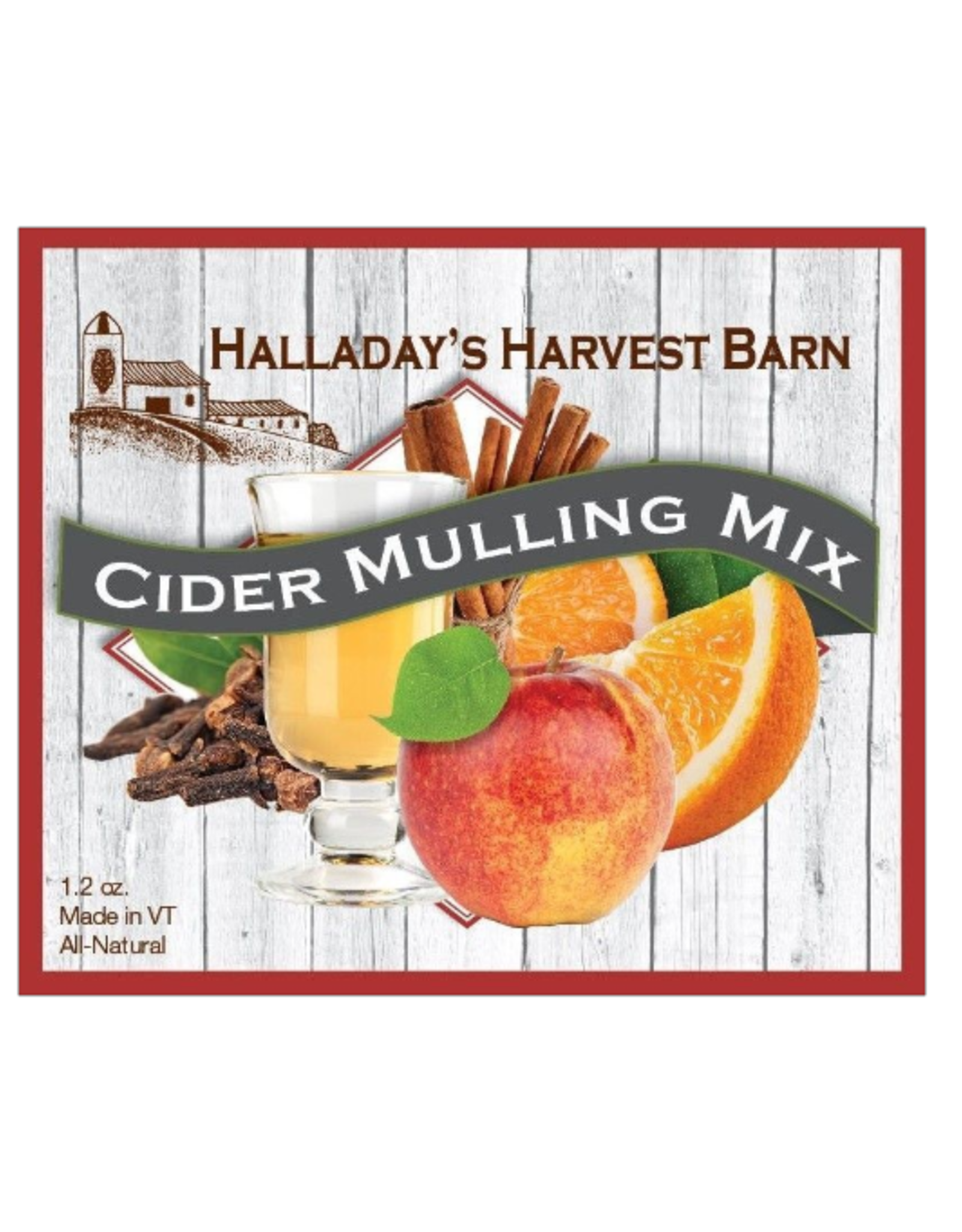Halladay's Harvest Barn Cider Mulling Mix