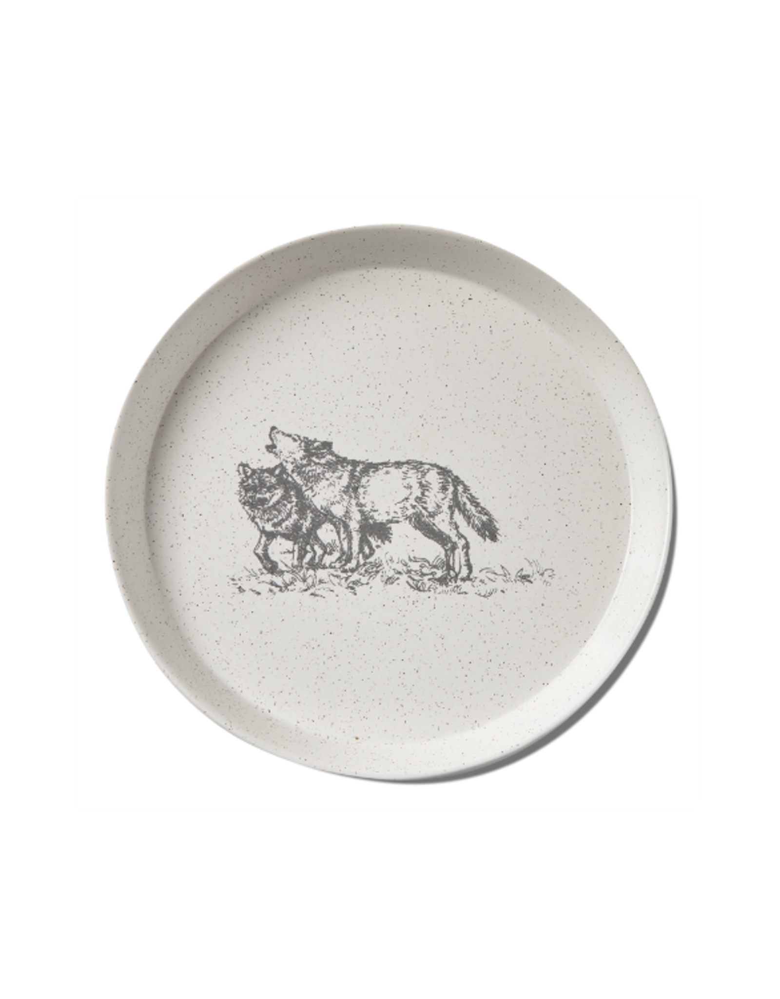 Tag App Plate - Wolf Winter Sketches