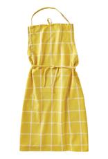Tag Apron, Yellow Classic Check