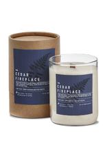 Tag Candle - Cedar Fireplace