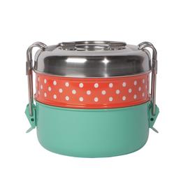 Now Designs Tiffin Food Container, 2 Tier - Splendor