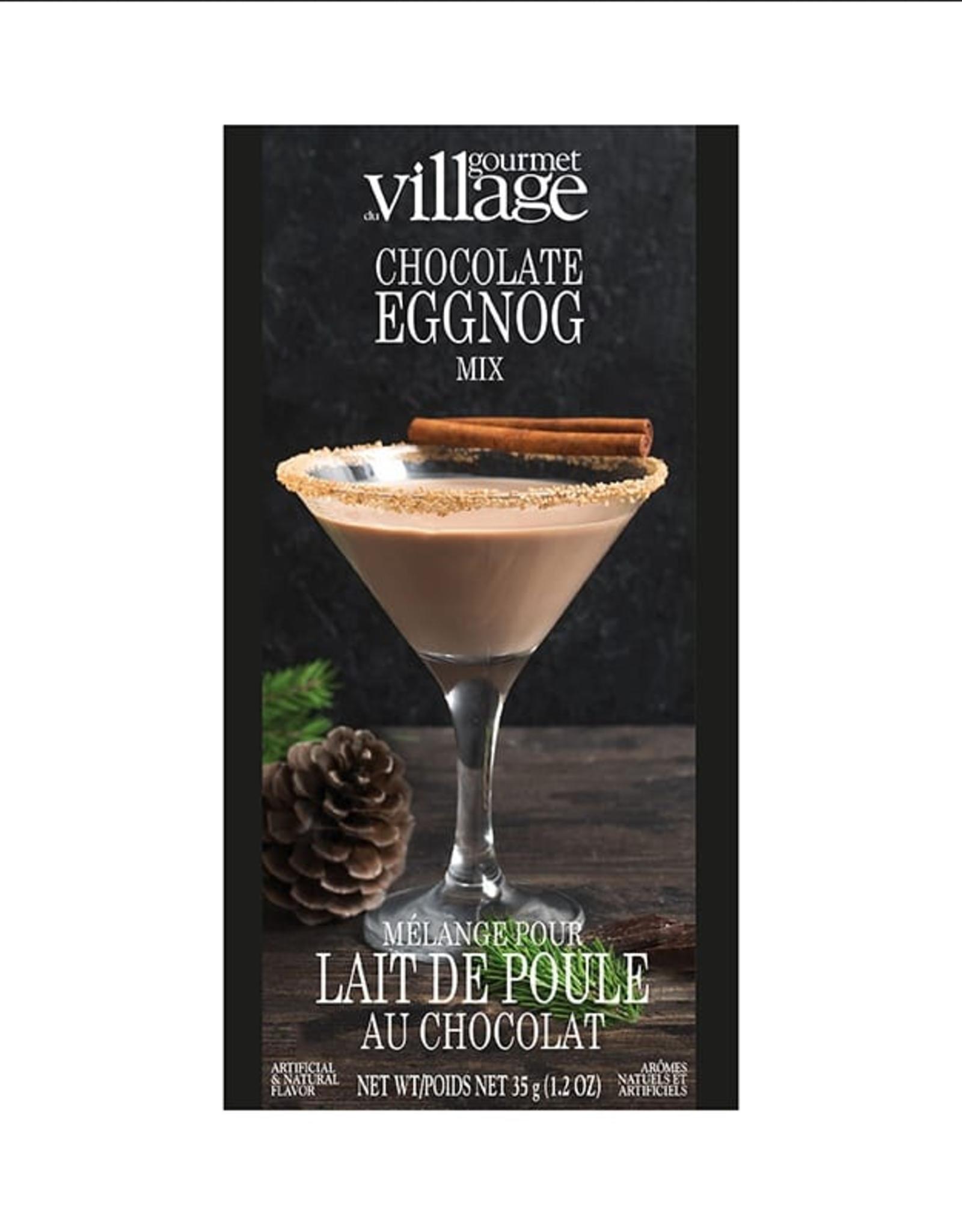 Gourmet Village Chocolate Eggnog Mix