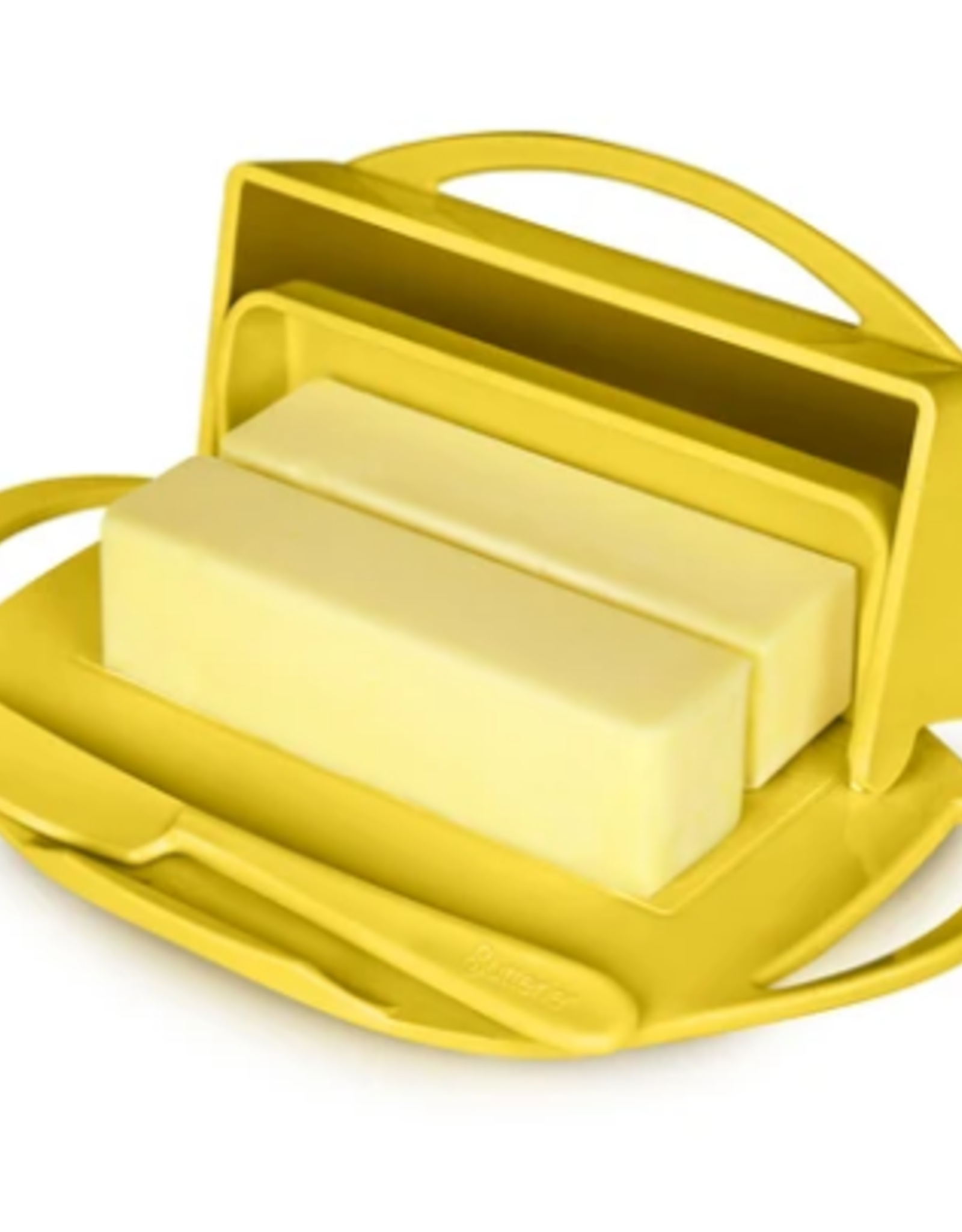 Kitchen Concepts Unlimited Butterie Butter Dish - Yellow
