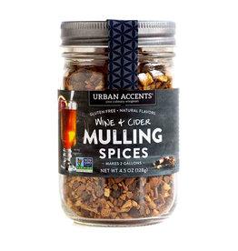 Urban Accents Wine & Cider Mulling Spice 4.5oz jar