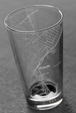 Well Told Duluth MAP Pint Glass