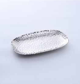 Pampa Bay Small Serving Platter, Silver